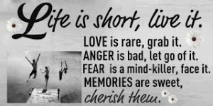 Life is short ,live it...via www.9quote.com