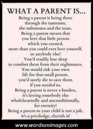 parenthood quotes