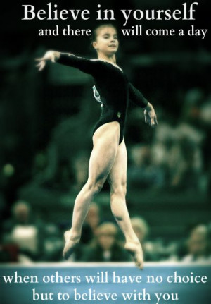 great gymnastics quote