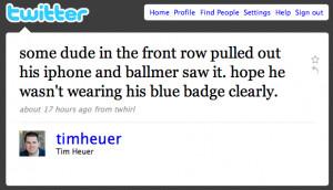 Article Link: Steve Ballmer Mocks iPhone-Toting Microsoft Employee