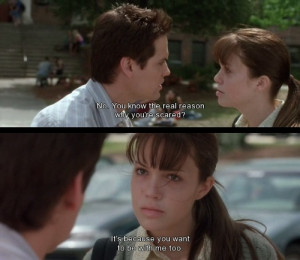 walk to remember #screencap #movie #quote