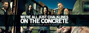 Five Finger Death Punch Never Enough Lyrics Facebook Cover