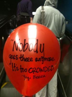 Yogi berra baseball coach quotes and sayings deep witty