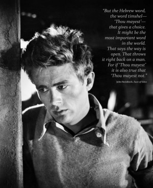 the east of eden timshel Discover and share timshel east of eden quotes explore our collection of motivational and famous quotes by authors you know and love.