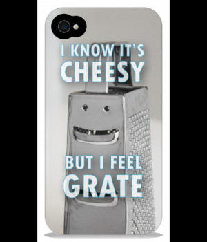 Home | Cheesy Grater iPhone 4 & 4S