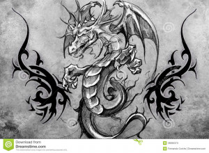 Facebook Tags Dragon Tattoo...