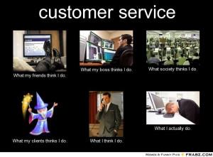 Blog Funny Customer Service...