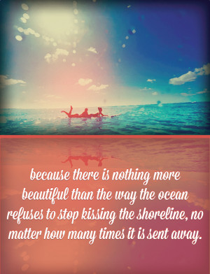Viewing Gallery For - Ocean Love Quotes
