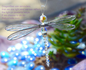 Swarovski Crystal Dragonfly Sun Catcher: Inspirational Dragonfly Gifts