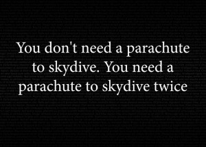 Funny Skydiving Quotes