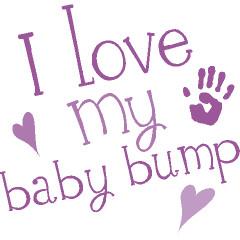 Cute Belly Print Baby