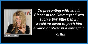 ridiculous celebrity quotes of 2012 kesha ke$ha