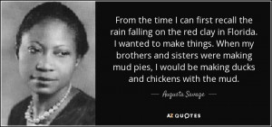 Augusta Savage Quotes