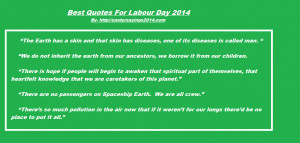 Happy Labour Day 2014 Quotes, Sayings, Lines, May Day Slogans For Kids