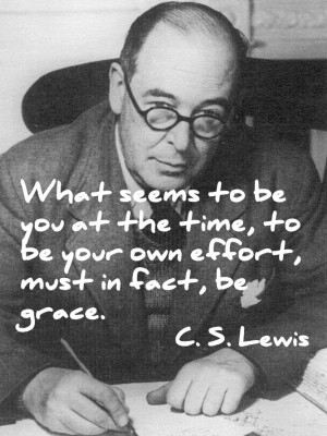 Lewis quote on the need for grace.
