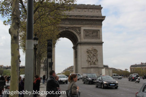 Paris France Famous Landmarks
