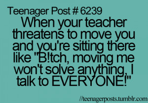 funny, quotes, teenager post