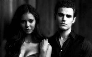 The Vampire Diaries TV Show Elena+Stefan