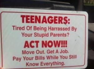 TEENAGE FUNNY