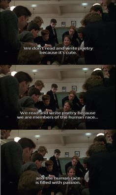 Dead Poet's Society More