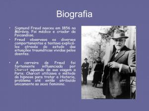Biografia Sigmund Freud...