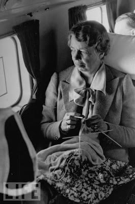 Famous Knitters, Part 1...
