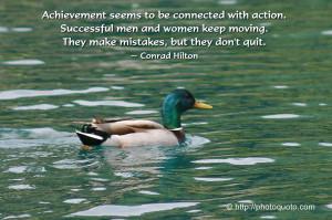 Sayings, Quotes: Conrad Hilton