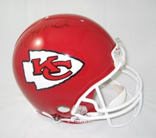 Joe Montana Autographed Kansas City Chiefs Pro Line Helmet by Riddell