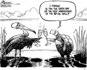 Monday Cartoon Fun: Happy Anniversary, BP Edition