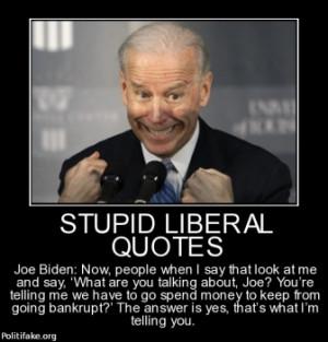 Politics Stupid Liberal Quotes Pic