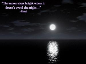 Rumi Wisdom: The Moon