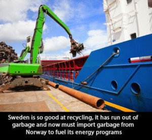 funny picture sweden recycling wanna joke.com