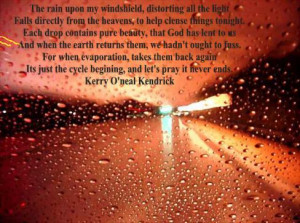 girl in rain quote wallpapers animated gif girl in rain quote ...