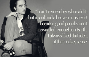 Robert Pattinson Quotes.