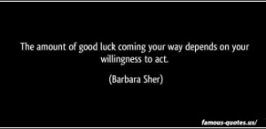 Good Luck Quotes and Sayings