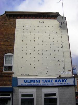 Lemn Sissay wall Poem