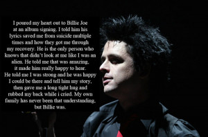 band, billie joe armstrong, concert, cries, green day, music, quote ...