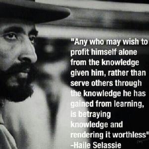 Selassie Quotes | Haile Selassie | I ♥ Quotes