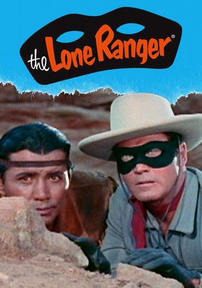 enormous popularity on TV and radio, the Lone Ranger (Clayton Moore ...