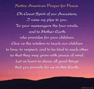 Native American Prayer About Death http://www.fibrotalk.com/forum ...