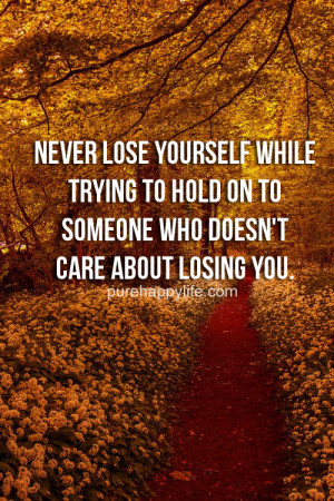 losing yourself in a relationship quotes