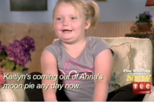 This discussion of course is about Honey Boo Boo Child.