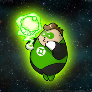 Funny Green Lantern Pictures Chubby green l.