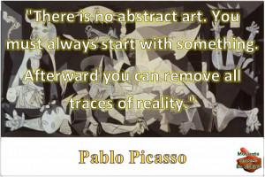 Inspirational Pablo Picasso Quotes: Stepping Stones to an Original ...
