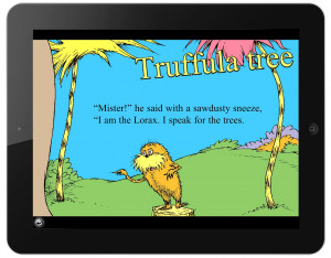 The Lorax omBook discounted to 99 cents; Lorax Garden game available ...