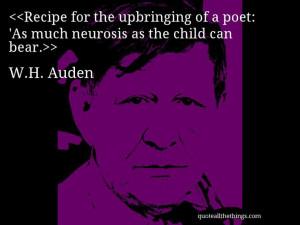 Auden - quote-