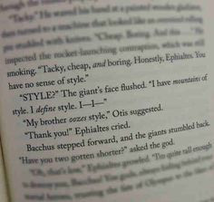 Typical Percy Jackson(: More