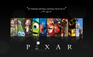 Pixar Disney Company Wall-E cars quotes Up (movie) Finding Nemo