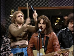... Frenkle (Will Ferrell) giving more cowbell -
