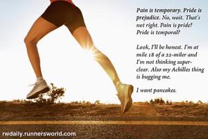 running motivation - funny running picture